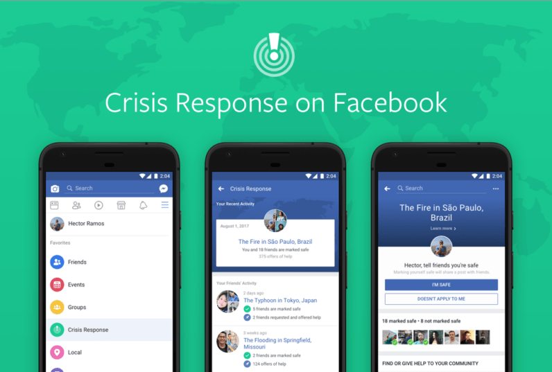 Facebook's new Crisis Response hub combines all its best emergency tools