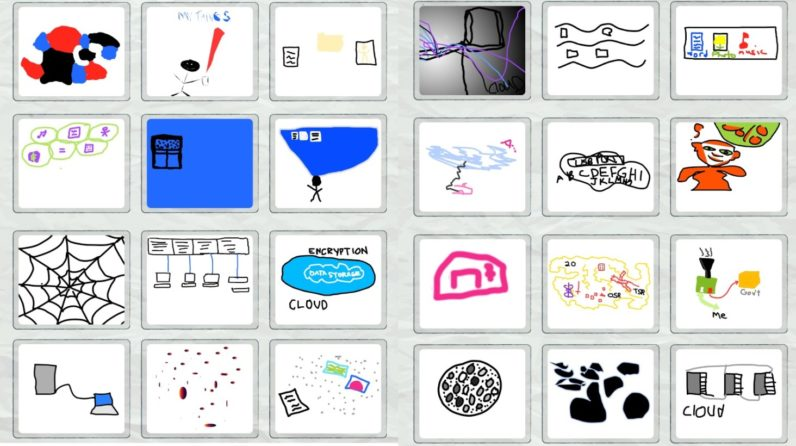 A recent study asked people to draw the internet. Here's what they came up with