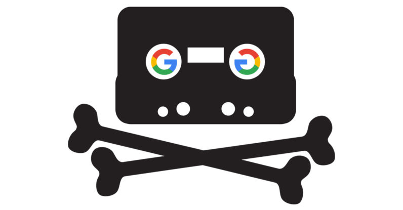 google, drive, pirate bay