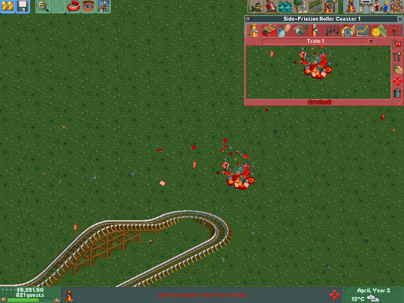 Let's face it: The best part of RollerCoaster Tycoon was killing