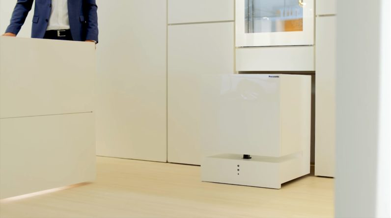 This refrigerator from Panasonic is one cool robot