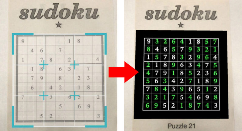 sudoku, apple, arkit
