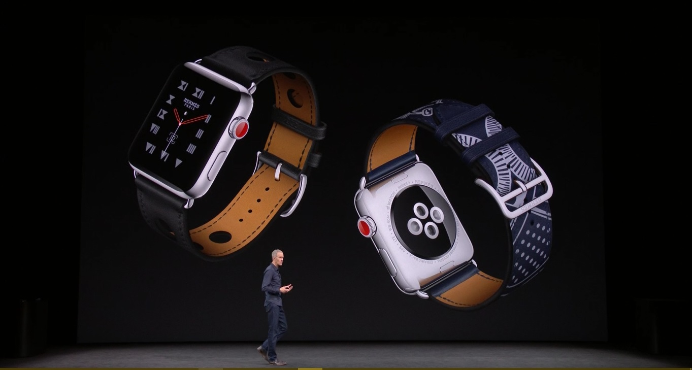 Image result for Apple Watch Series 3 with cellular, new fitness enhancements unveiled