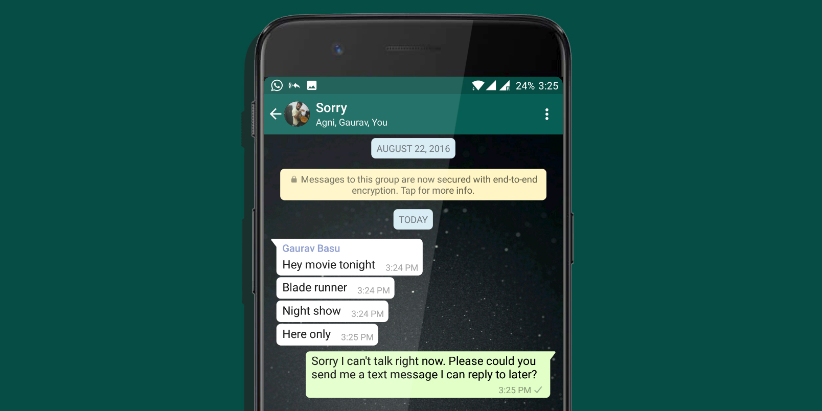 This Android App Auto Replies To Whatsapp Texts When Youre Busy