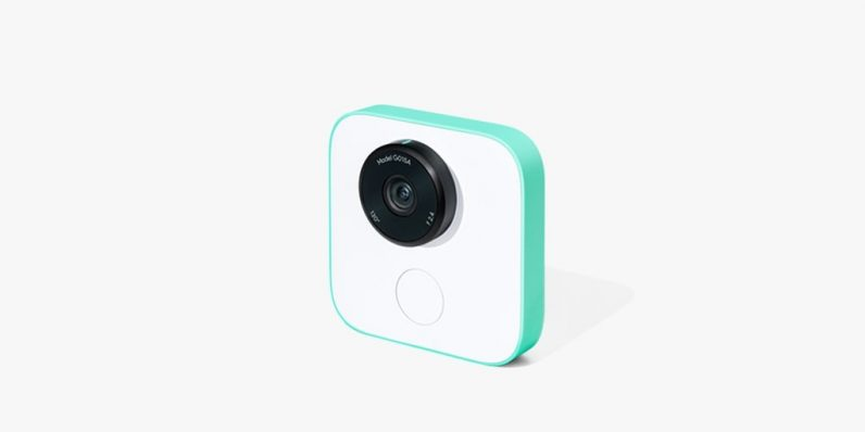 Google Clips is tiny hands-free camera that takes pics by itself