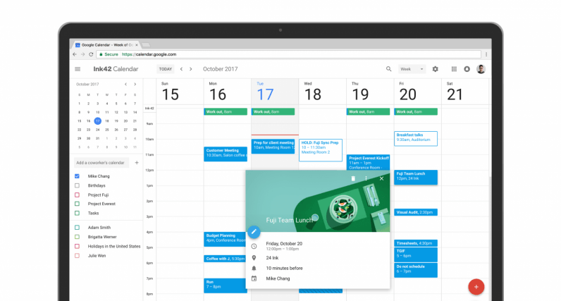 Google Calendar gets a fresh new look