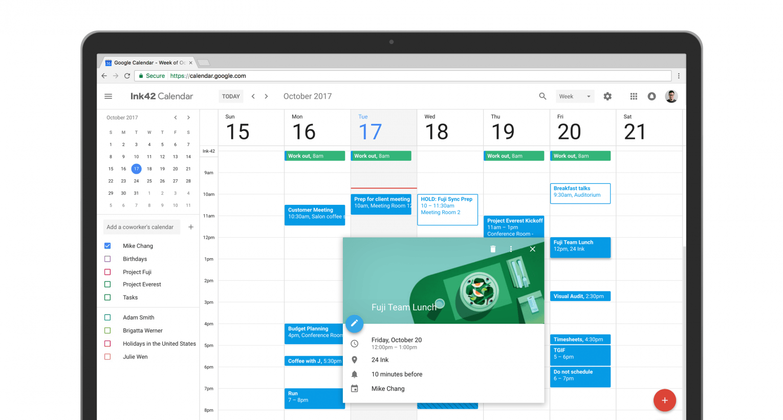 Google Calendar gets a fresh new look