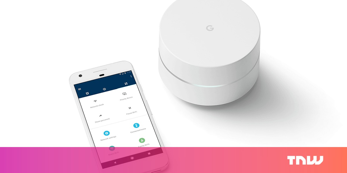 photo image A year later, Google WiFi is still the best option for home internet
