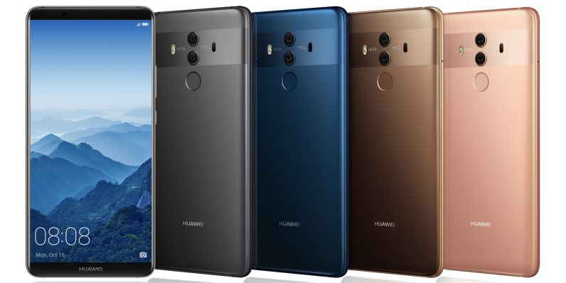 Huawei's Mate 10 flagship series comes in 3 bezel-less flavors to take on the iPhone