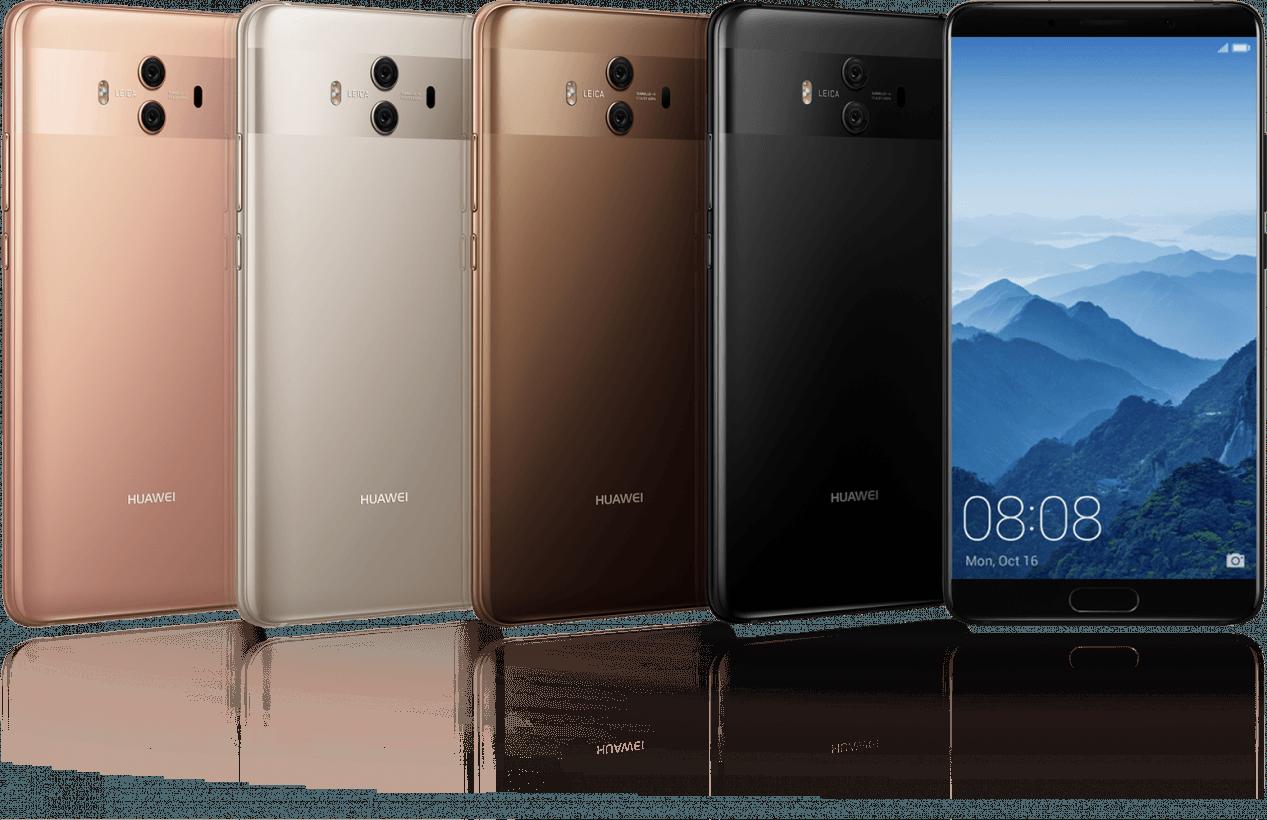 The 5.9-inch Huawei Mate 10