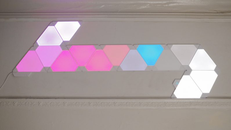 Nanoleaf's musical smart lights turned my home into a real-world visualizer