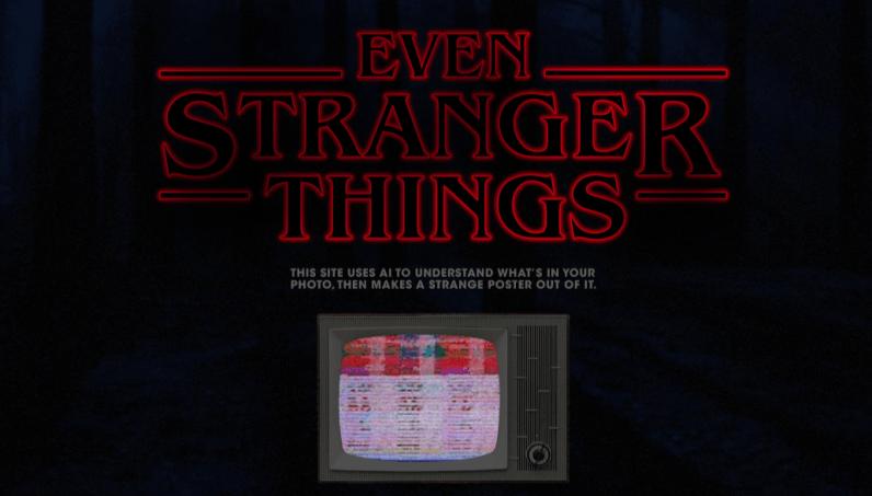 stranger things, ai, tool, image, poster