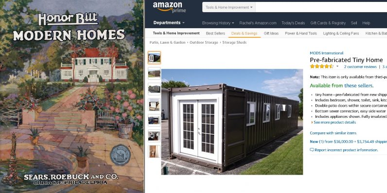 Amazon's pre-fab houses are so 19th century Sears catalog