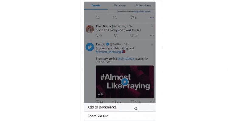 Twitter is getting a much needed save-for-later button