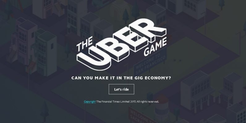 'The Uber Game' offers a peek at the depressing reality of driving for Uber