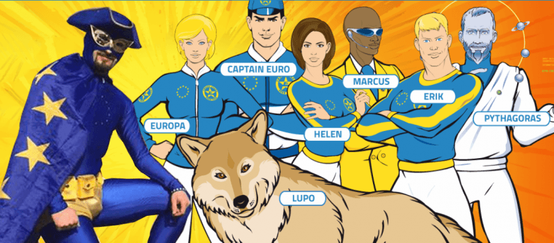 Meet the EU's adorably awkward real-life superhero: Captain Europe