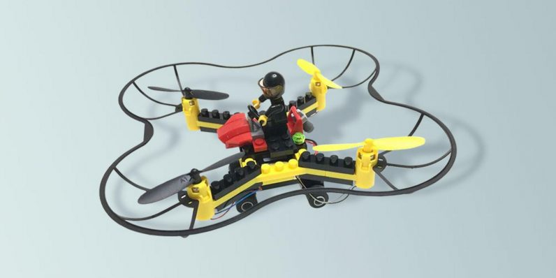 Build and fly your very own flying, driving super drone — and it's yours for only $32.99