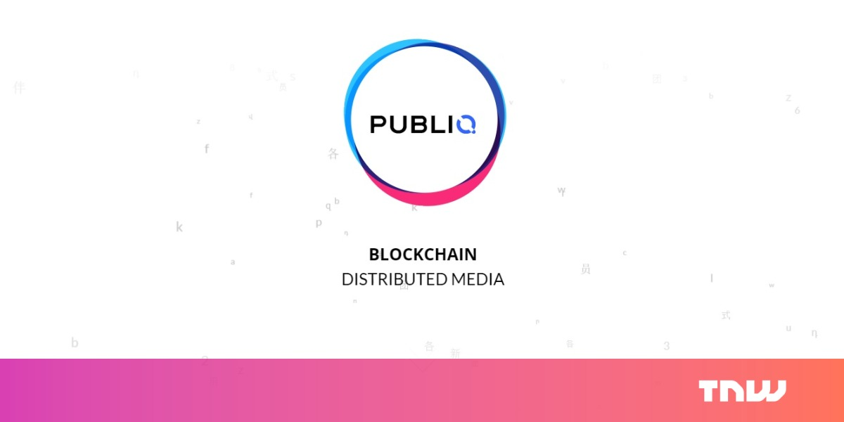An ICO for blockchain technology that disrupts fake news is the most 2017 thing ever