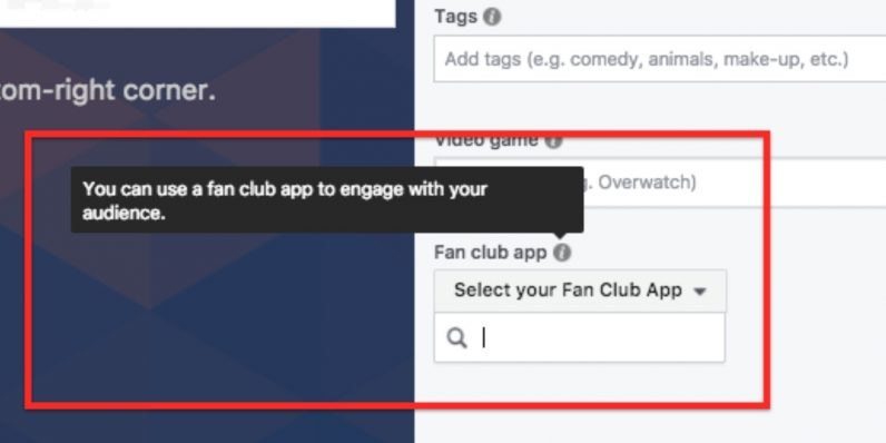 facebook, fan club app,