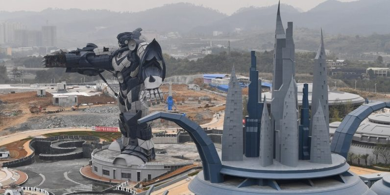 China is opening a massive VR theme park next month