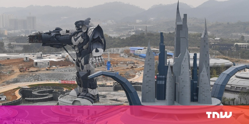 photo image China is opening a massive VR theme park next month