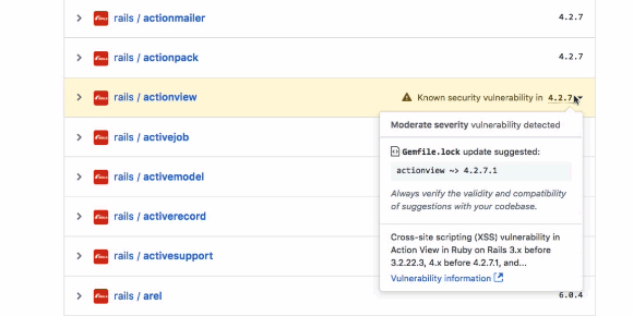 GitHub will now alert you of security flaws in your project dependencies