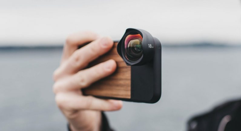 sale retailer 2c6a9 0bf6f Moment's iPhone X cases turn it into an interchangeable lens camera