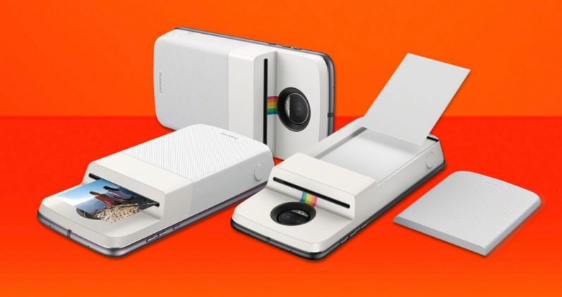 Motorola's new Polaroid-printing Mod might be the best reason to buy a Moto Z