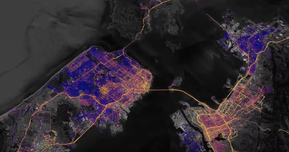 Google is mapping out air pollution levels on Google Earth