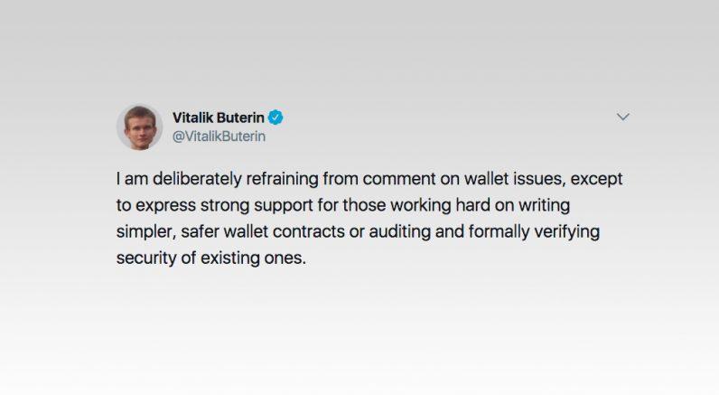 vitalik, buterin, ethereum, parity wallet