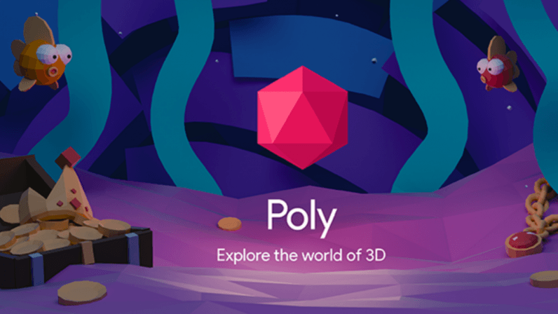 Google's 'Poly' is a cross-platform 3D library for VR/AR -- and it's free