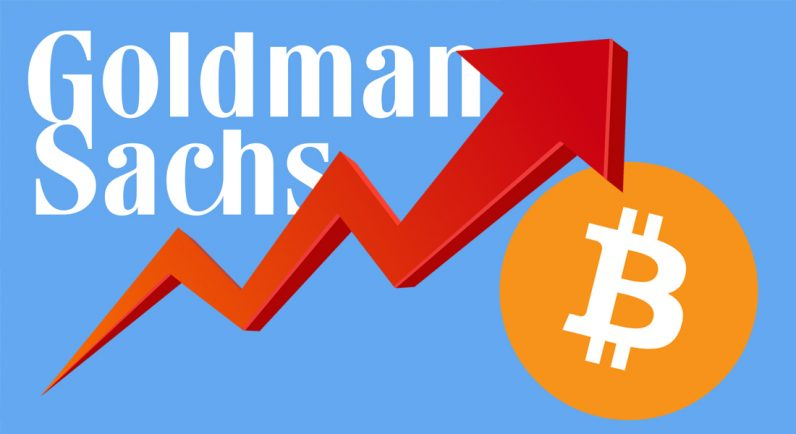 goldman sachs, vp, bitcoin, $8,000