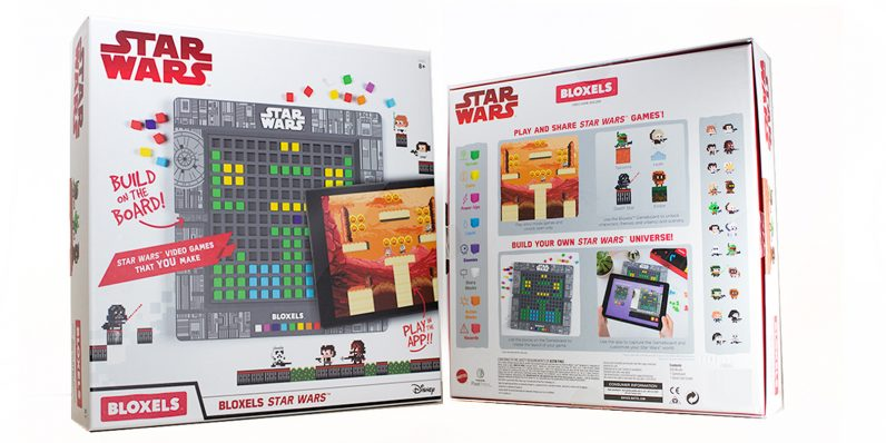 Star Wars Bloxels lets you make video games using tiny plastic blocks