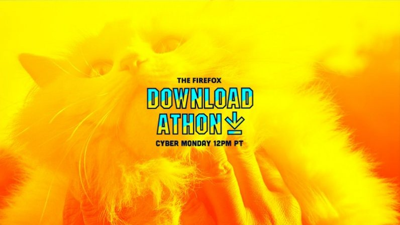 "Mozilla offers relief from Cyber Monday with bizarre ""Download-A-Thon"" livestreaming event ..."