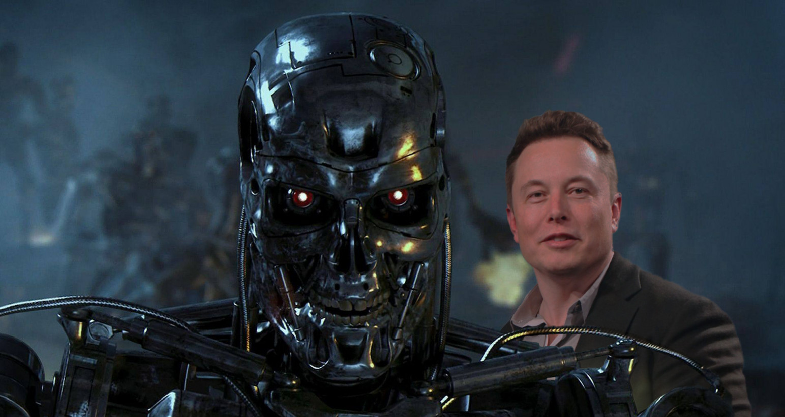 Elon Musk basically confirms AI is coming to eradicate the human race