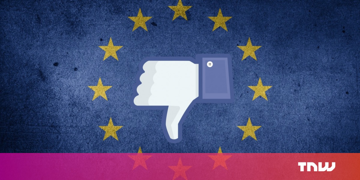 photo image 25,000 EU citizens are unlikely to get compensation for Facebook's alleged privacy violations