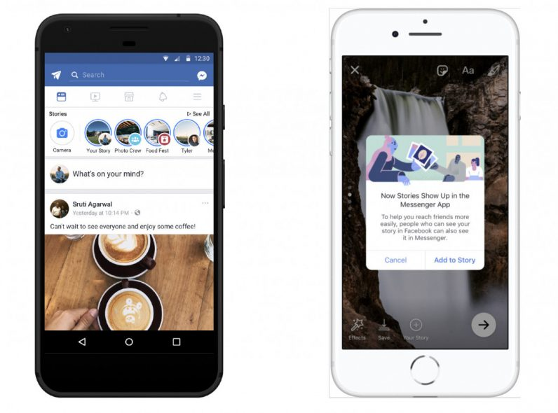 Facebook merges Messenger Day with its core Stories feature