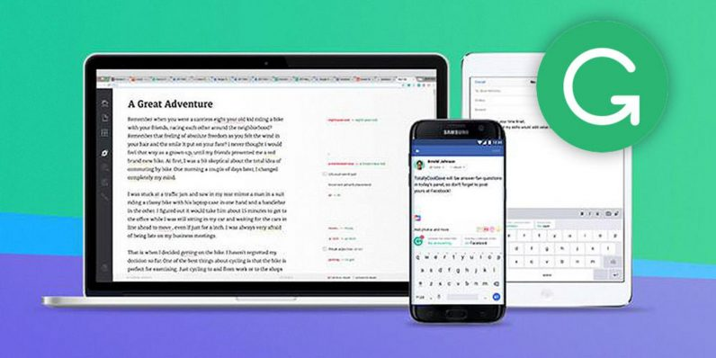 Grammarly polishes your writing across all your apps and emails