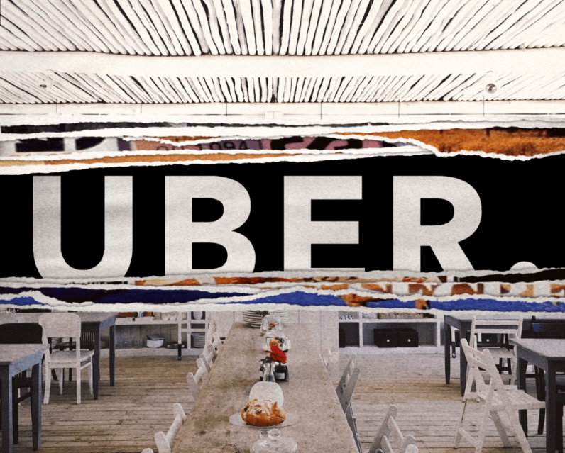 How Uber could be building a restaurant empire with your data
