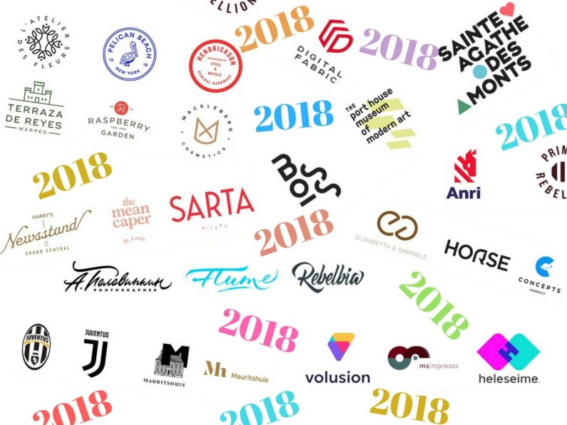 10 logo design trends that will dominate 2018