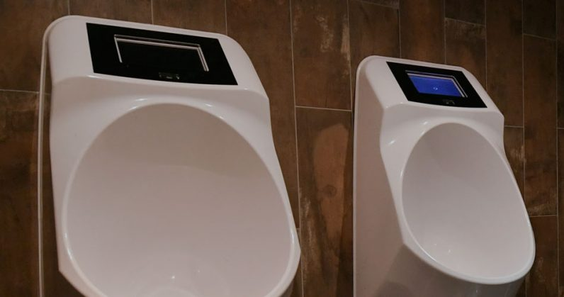 smart, urinal, ads, leak, toilet