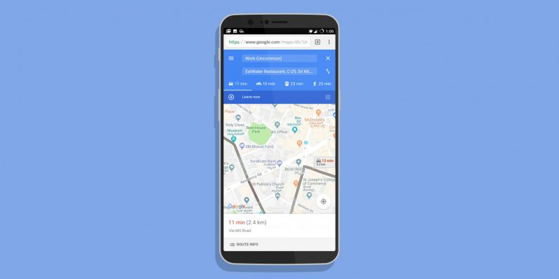 Google's lightweight Maps Go is just a Progressive Web App