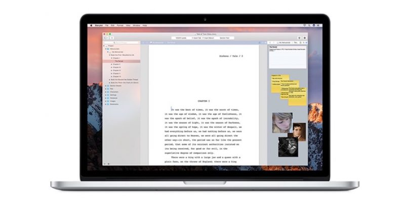 Let Storyist for Mac help whip your writing into shape for less than $20