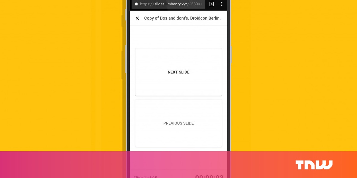 turn your phone into a google slides remote with this chrome extension