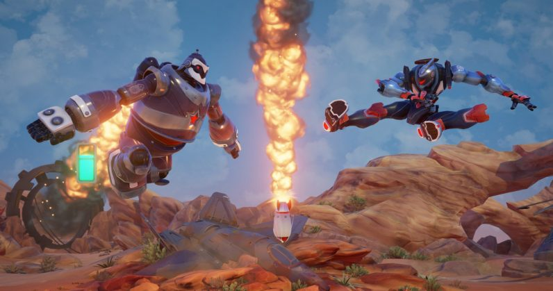 Canceled robot brawler Rising Thunder returns as a free PC game next month