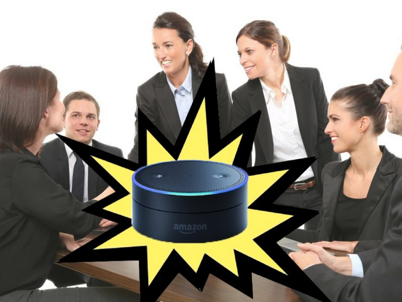 How Alexa could save the business meeting