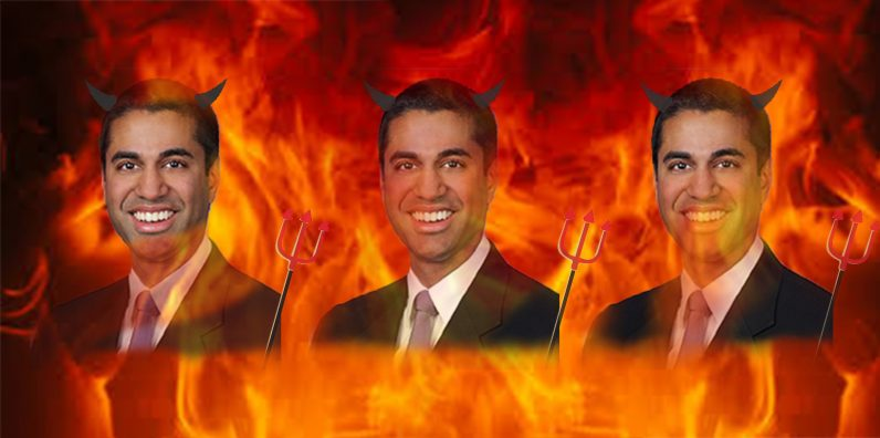 If FCC Chairman Ajit Pai wants to 'set the record straight' on net neutrality he should stop ...