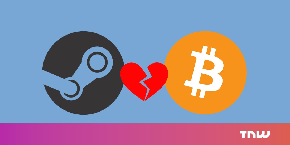 Removing Bitcoin payments from Steam is a smart move by Valve
