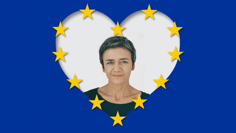 My tech person of the year: Margrethe Vestager