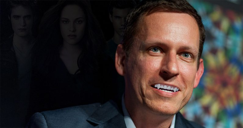 Internet vampire Peter Thiel aims to save the world with magic mushrooms